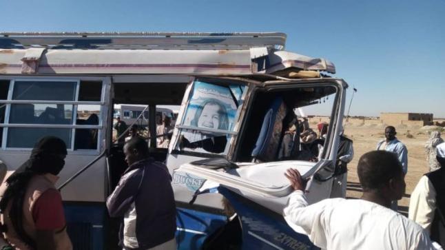 وفاة وإصابة (21) شخصاً في حادث مروري بالخرطوم