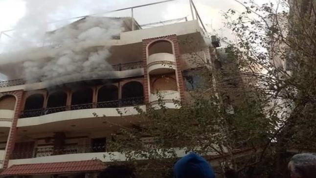 وفاة والد الفنان المصري إيهاب توفيق بحريق منزله